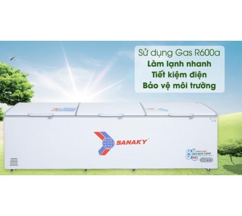 Tủ đông Sanaky Inverter 1143.5 lít VH-1399HY3